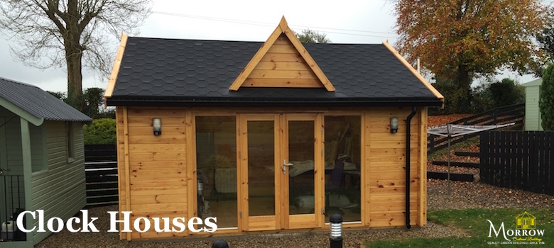 Clock House Log Cabins for sale in Ireland