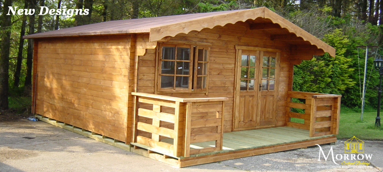 New Designs of Log Cabins for sale in Ireland