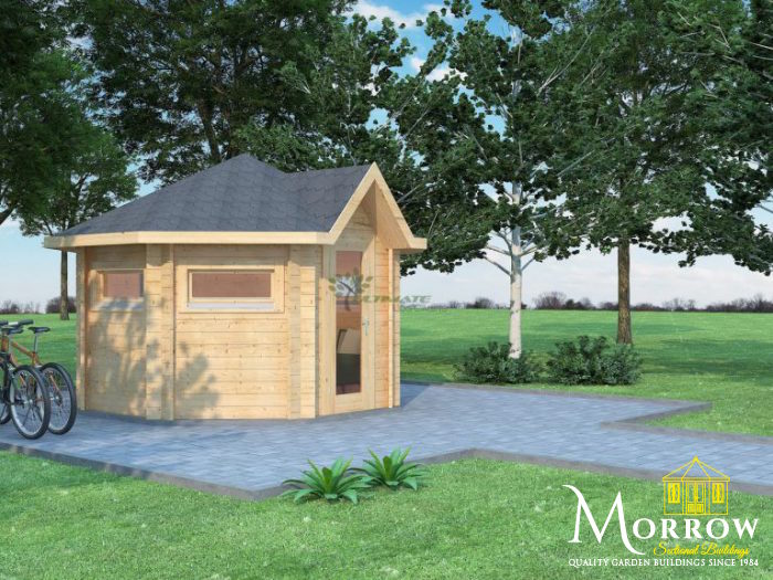 Wiltshire Summer House 3.5m x 3.5m