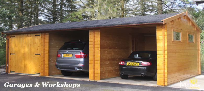 Timber Garages and Workshops for sale in Ireland